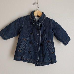 Baby Girl Gap Jean Jacket- 6m- 12M